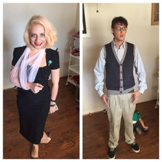 Audrey and Seymour little shop of horrors Halloween costume