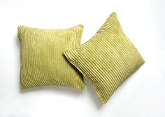 A pair of Green cushion Covers. Link to shop in bio. Green Cushion Covers, Green Cushions, Striped Cushions, Throw Pillows, Link, Shop, Green Throw Pillows, Toss Pillows, Decorative Pillows