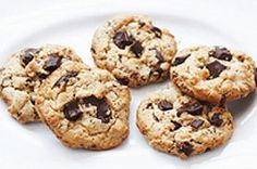 Peanut Butter, Oatmeal & Chocolate Chunk Cookies