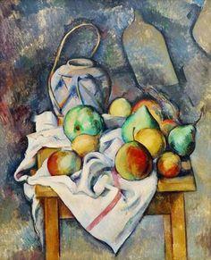 Paul Cézanne - Le vase paille