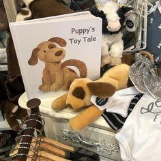 Puppy Book & Soft Toy Set