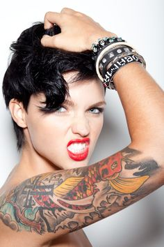 #tatto ruby rose cover