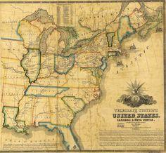 1853 American Telegraph Lines