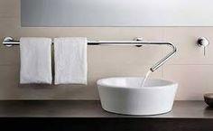 Me gustó el toallero con el lavamanos...bien resuelto..