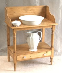 Antique Washstand Meakin Bowl Jug | Antiques4Cottages.com