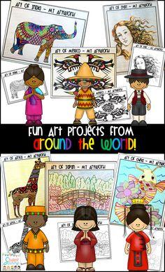 ART from Around the World!