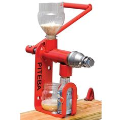 Press your own healthy oils for cooking, medicinal or many other uses. - hand crank oil press