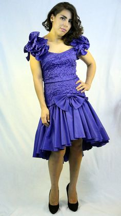 1000+ images about Vintage 80s Prom Dresses on Pinterest ...