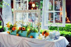 wedding window wedding seating chart / http://www.deerpearlflowers.com/diy-window-wedding-ideas/2/