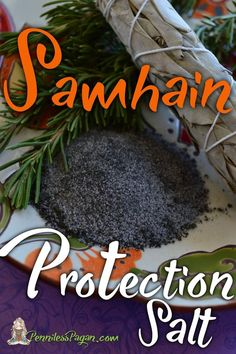 Samhain Protection Salt from PennilessPagan.com #Samhain #Halloween #Protection #Salt #Spell #Pagan #Wiccan #Witch #Witchcraft #Sabbat #Ritual