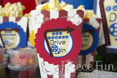Drive-In Movie Party - Free Printables #MovieNight