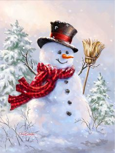 Another snowman by Dona