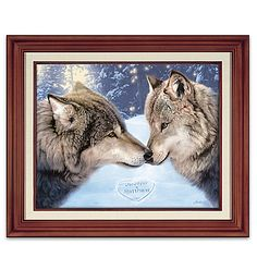 Quality Handcrafts Guaranteed Howling Wolf Wood Lapel Pin