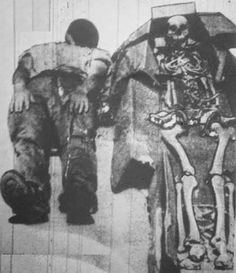 Giant Human Skeletons: 8 Foot Giant Neanderthal Hybrid Discovered in a Missouri…