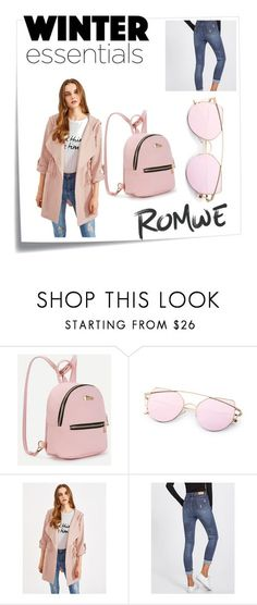 """romwe1"" by elvisa-mirsad ❤ liked on Polyvore featuring Post-It"