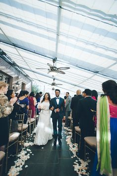 Wedding cermeony at NYIT de Seversky Mansion in Old Westbury, NY. Captured by Long Island Wedding Photographer Ben Lau.