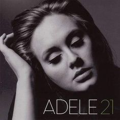 Adele - 21 (2011) CD Front cover