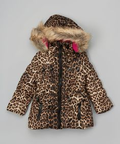 31e62c750 This Leopard Six-Pocket Puffer Coat - Infant & Toddler by Urban Republic  is