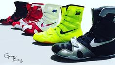 Nike Hyper KO's!! What's your color? #boxing #footwear #kicks