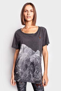 Góry foto damska koszulka | Pan tu nie stał