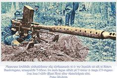 Dec. 1939 inleddes industriell tillverkning av både Molotovcocktails & Buntladdningar på 2-4kg. Dessa vapen krävde närstrid med stridsvagnar!  Vid Summa dec. 1939 stred finska division 5 & 6 samt buntladdningsmän från 3:e avdelta bataljon& bekämpade stridsvagnar. Bl a en vagnbesättning skadade en buntladdningsman med handgranater från tornluckan & satte stopp för försök, istället kom reservfänriken Saarinen in & kastade sin buntladdning på vagnstaket + sina molotovcocktails. Vagnen fattade…
