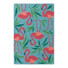 You'll love the Fancy Flamingo Aqua Indoor/Outdoor Area Rug at Wayfair - Great Deals on all Rugs products with Free Shipping on most stuff, even the big stuff.