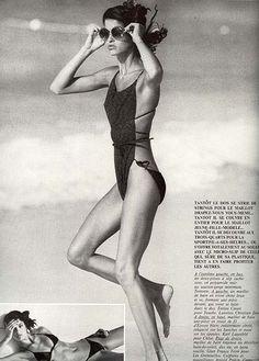 Janice Dickinson, late 70s/early 80s