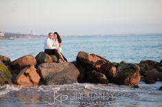 Bel Air Bay Club engagement photos | LA beach engagement | Jim Kennedy Photographers