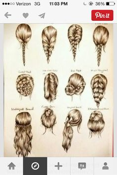 I Wanna Learn How To Braid Different Types Of Braids. This Should Help Me.