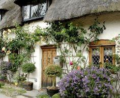 Chocolate Box Cottage front garden!