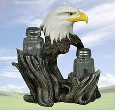 Amazon.com: Proud Seasons Eagle Salt & Pepper Shaker Set: Everything Else