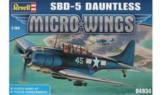 Revell - 04934 - Maquette d'Avion / Aircraft Model kit - Sbd-5 Dauntless - 1/144