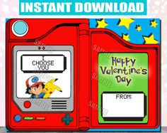Browse unique items from kidspartyprintco on Etsy, a global marketplace of handmade, vintage and creative goods. Party Printables, Etsy Seller, Valentines, Unique, Day, Creative, Handmade, Vintage, Valentine's Day Diy