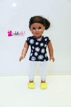 American made Girl Doll Clothes 18 inch Girl by AdollablebyRita
