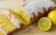 Συνταγή για σιροπιαστό κέικ με λεμονάτο άρωμα και λευκό γλάσο