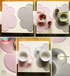 Kindertage | Unsere neuen Tischbegleiter – die Cloud Placemats von kg-design | http://kindertage.eu