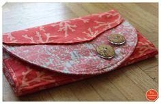 Frau Muscheids Nähstunde: Goldbeutel von Knopfloch - mit Liebe handgemacht