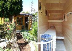 Ideal Gartenhaus mit Einbausauna