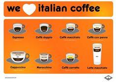 We (heart) italian coffee!