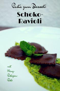 Ihr könntet Pasta sogar zum Nachtisch haben? Kein Problem! - mit diesen fruchtig gefüllten Schoko-Ravioli beamt Ihr jeden Pasta-Fan in den Dessert-Himmel!