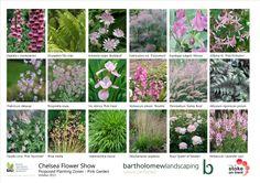 Pink planting sheets for the Positively Stoke-on-Trent garden (Chelsea Flower Show 2014)