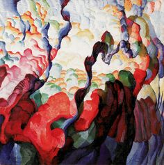 Irregular Forms: Creation, Frantisek Kupka