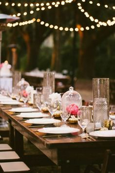 Sweetgrass Social wedding at Legare Waring House. Heather & Matt. Pink table scape on a wooden table.