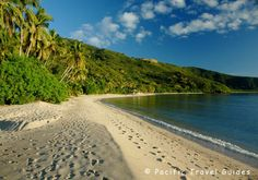 Fiji Yasawa islands Beach.