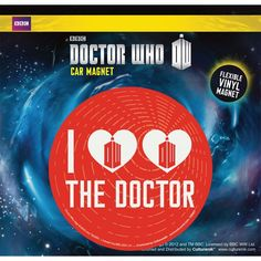 Doctor Who Heart Heart Dr Car Magnet - goHastings Doctor Who Shop, New Doctor Who, Dr Car, Car Magnets, Bumper Stickers, Discover Yourself, Car Accessories, Stocking Stuffers, Middle School