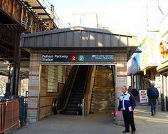 Pelham Parkway Subway Station, White Plains Road, Bronx, New York (Flickr - Photo)