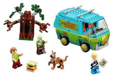 Zoinks! Scooby-Doo gets to solve mysteries in #LEGO!