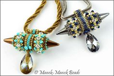 Viking Queen Necklace : Manek-Manek Beads - Jewelry | Kits | Tutorials | Workshops