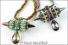 Viking Queen Necklace : Manek-Manek Beads - Jewelry | Kits | Tutorials | Workshops