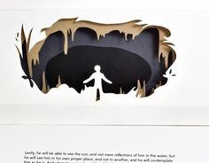 """Check out this @Behance project: """"Plato's Allegory of the Cave - Pop-Up Box"""" https://www.behance.net/gallery/10550773/Platos-Allegory-of-the-Cave-Pop-Up-Box"""